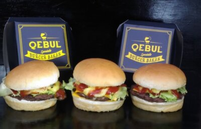 Burger Qebul, Kuliner Enak Anak Jakarta
