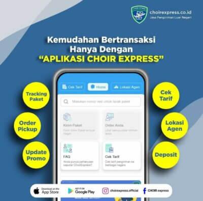 Choir Express, Cara Mudah Kirim Barang Ke Luar Negeri