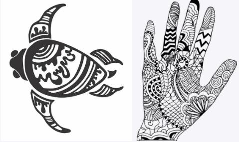 Gambar Cara Memakai Henna Di Tangan Yang Mudah