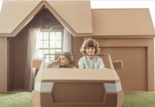 Cara Membuat Rumah Rumahan dari Kardus yang Mudah