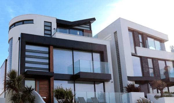 Gambar Cara Menggambar Rumah Mewah Dengan Mudah